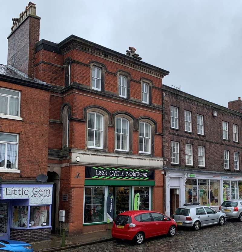 4 Bedrooms Apartment Flat for sale in Market Place, Leek, Staffordshire, ST13 5HJ