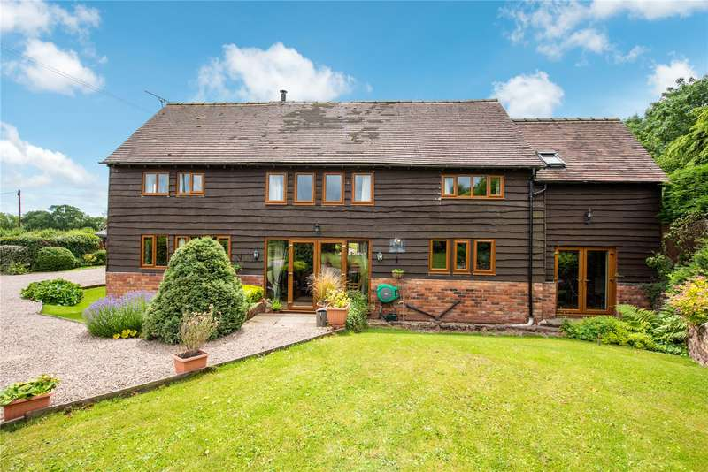 4 Bedrooms Barn Conversion Character Property for sale in Tedstone Wafre, Bromyard, Worcestershire, HR7