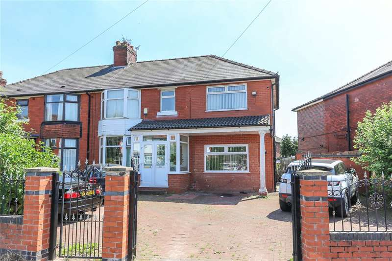4 Bedrooms Semi Detached House for sale in Lloyd Road, Levenshulme, Manchester, M19