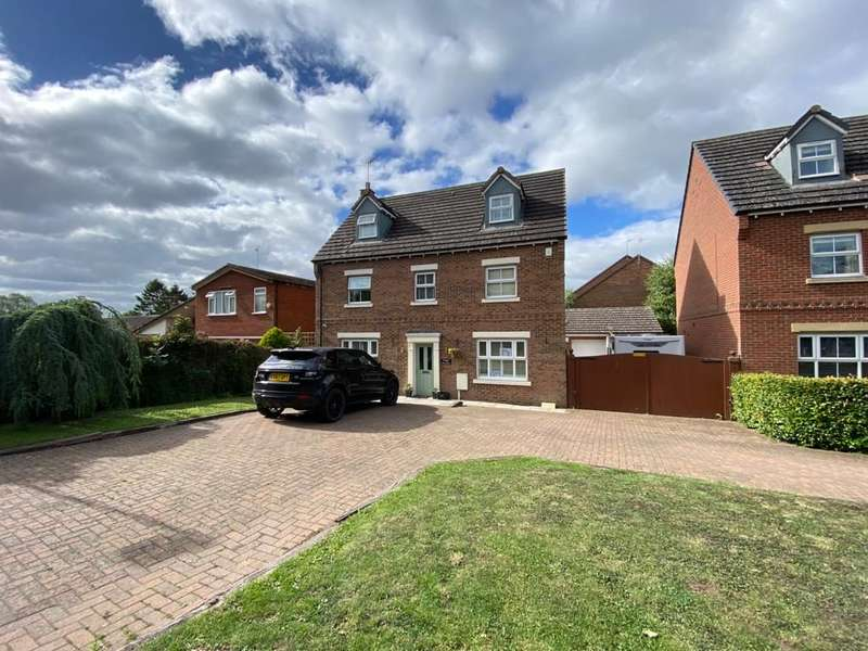5 Bedrooms Detached House for sale in Poppy Meadow, Leamington Road, Long Itchington, Southam, cv47