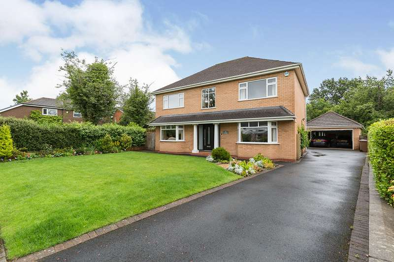 4 Bedrooms Detached House for sale in Merefield, Chorley, Lancashire, PR7