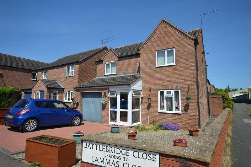 3 Bedrooms Detached House for sale in Battlebridge Close, Leominster