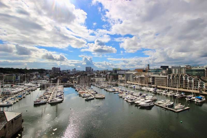 2 Bedrooms Flat for sale in East Quay House, Marrowbone Slip, Sutton Harbour, Plymouth, PL4 0HX