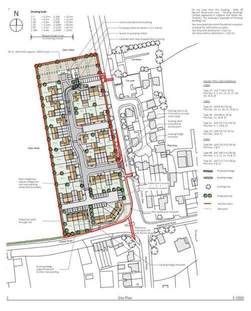 Plot Commercial for sale in The Pound, Vinegar Hill, Upper Caldecote