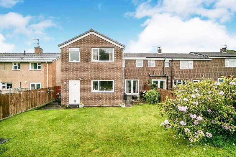 4 Bedrooms Semi Detached House for sale in Guessburn, Stocksfield, Northumberland, NE43