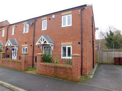 3 Bedrooms Semi Detached House for sale in Hexagon Close, Manchester