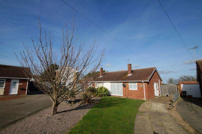 2 Bedrooms Semi Detached Bungalow for sale in ST OSYTH VILLAGE