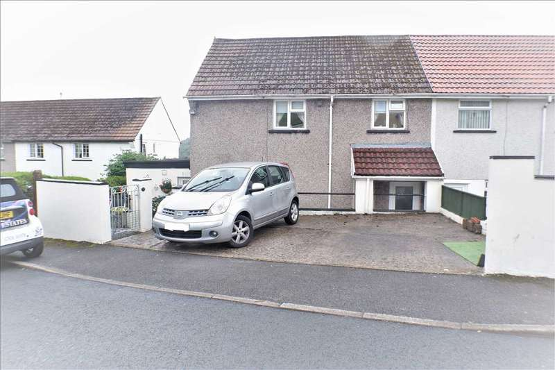 4 Bedrooms Semi Detached House for sale in Cadogan Close, Pentre