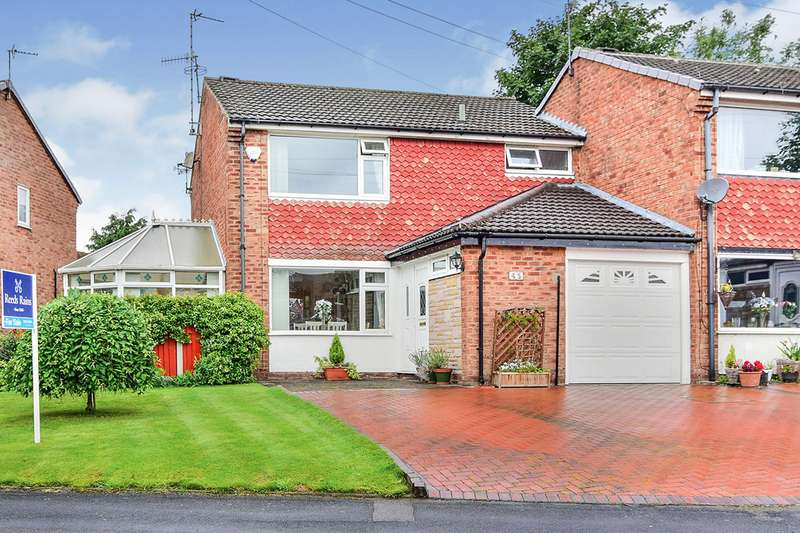 4 Bedrooms Semi Detached House for sale in Rugby Drive, Tytherington, Macclesfield, Cheshire, SK10