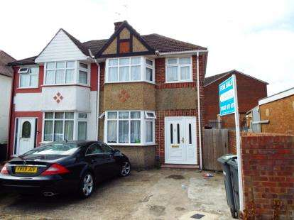 3 Bedrooms End Of Terrace House for sale in Hurst Way, Luton, Bedfordshire