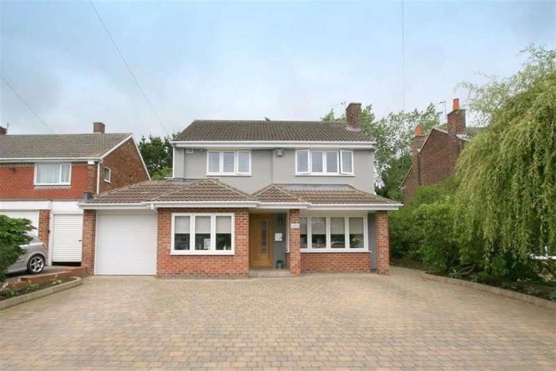 4 Bedrooms Detached House for sale in Gerrard Close, Briardene Estate, Whitley Bay, NE26