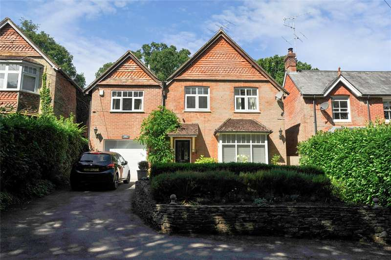 5 Bedrooms Detached House for sale in Marley Lane, Haslemere, Surrey, GU27