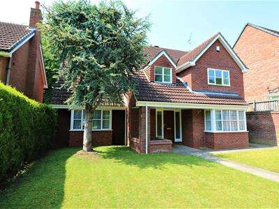 4 Bedrooms Detached House for sale in Moorgate Road, Rotherham