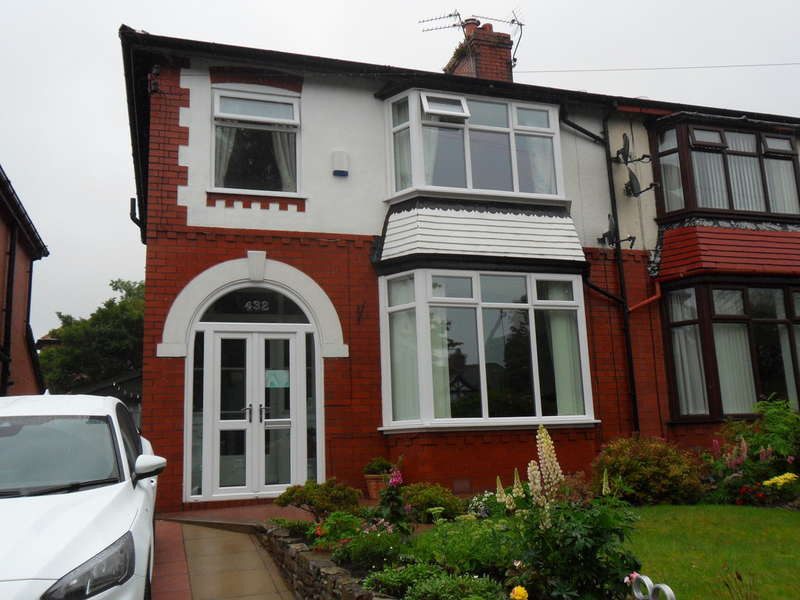 3 Bedrooms Semi Detached House for sale in 432 Burnley Lane, Chadderton