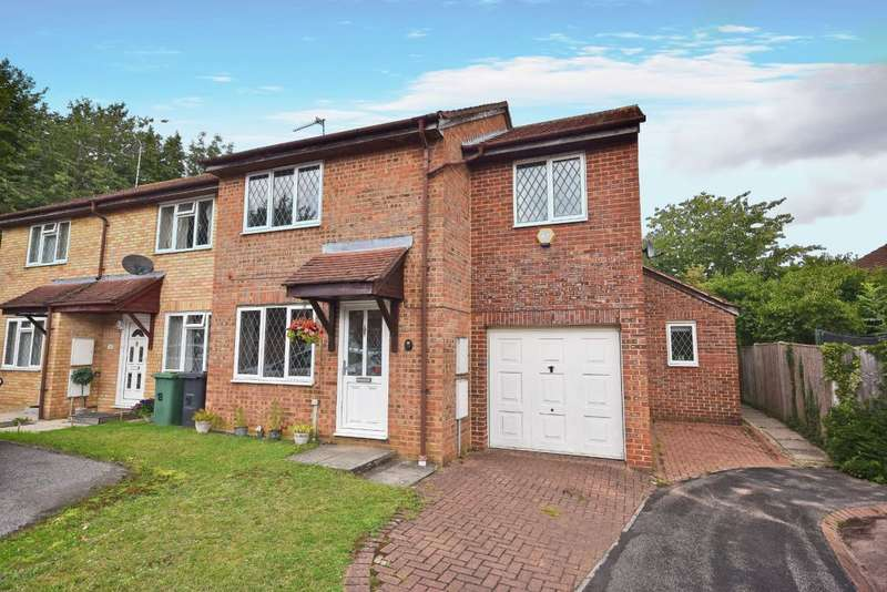 3 Bedrooms End Of Terrace House for sale in Hatch Warren, Basingstoke, RG22