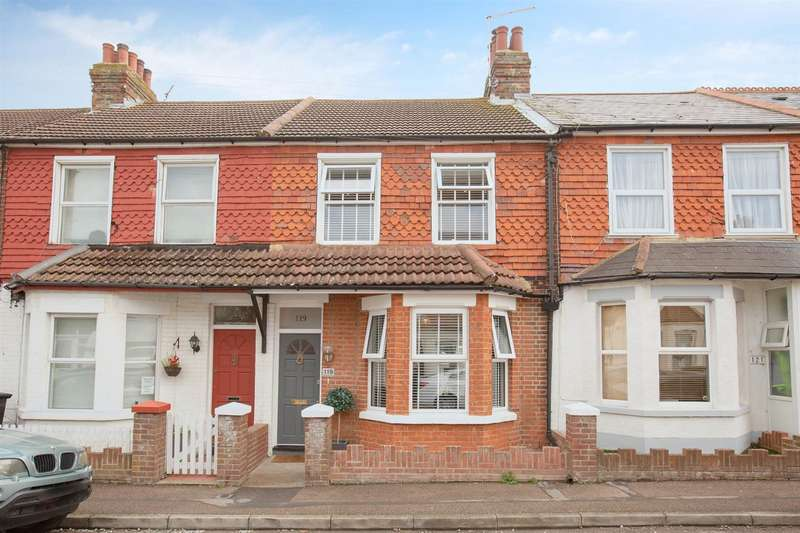 2 Bedrooms Terraced House for sale in Belmont Road, Westgate-On-Sea