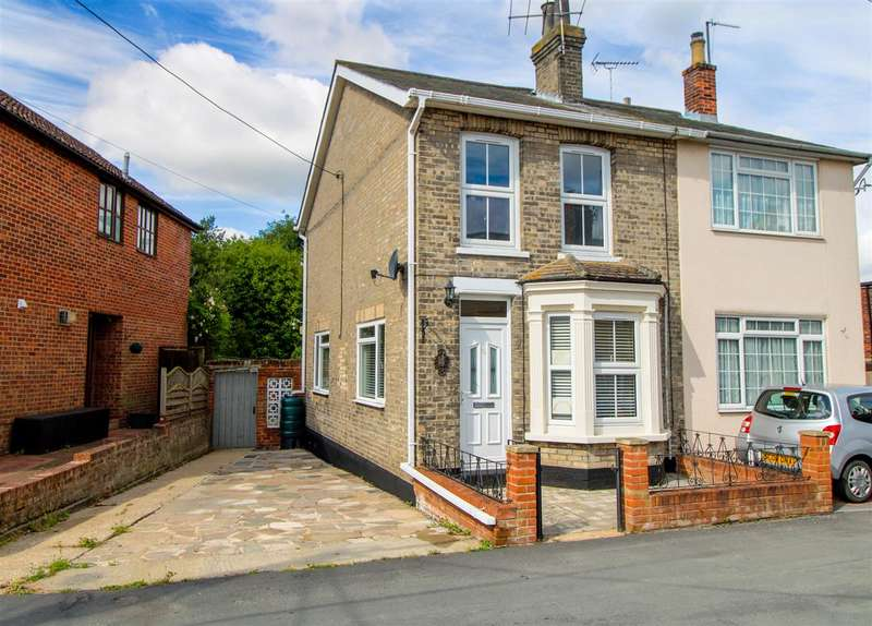 3 Bedrooms Semi Detached House for sale in Chapel Street, Rowhedge, Colchester, CO5