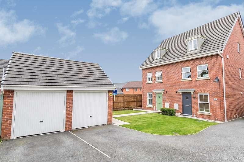 4 Bedrooms Semi Detached House for sale in Hazelmere Avenue, Buckshaw Village, Chorley, Lancashire, PR7