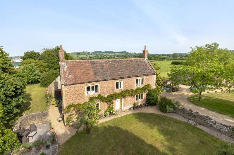 6 Bedrooms Detached House for sale in Southwood, Evercreech, Shepton Mallet, Somerset, BA4