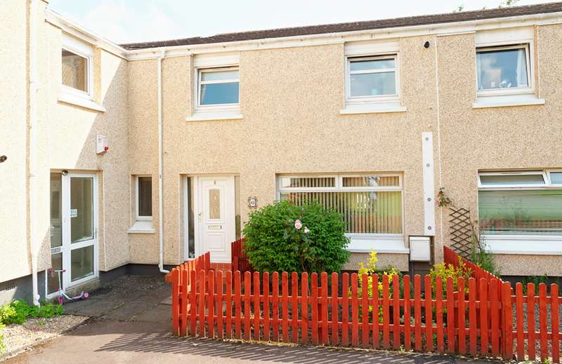 3 Bedrooms Terraced House for sale in Ettrick Court, Cambuslang, Glasgow, G72 7YG