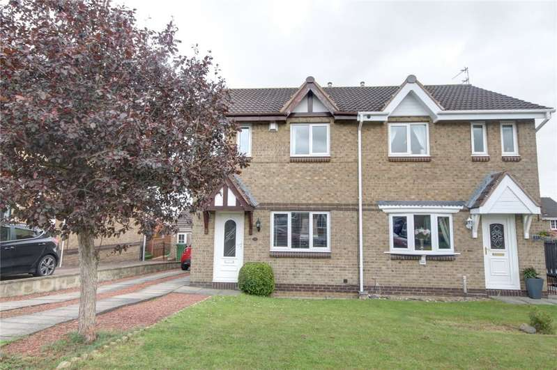 3 Bedrooms Semi Detached House for sale in Newburn Court, Newton Aycliffe, DL5