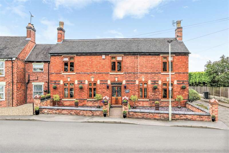 4 Bedrooms Detached House for sale in New Street, Donisthorpe, DE12 7PG
