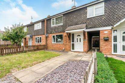 2 Bedrooms Terraced House for sale in Raleigh Crescent, Stevenage, Hertfordshire
