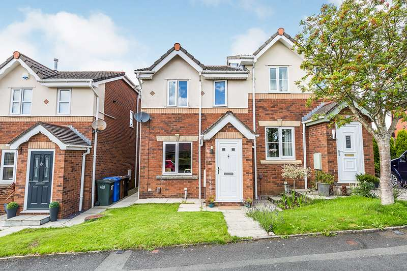 3 Bedrooms Semi Detached House for sale in Lea Road, Whittle-le-Woods, Chorley, Lancashire, PR6