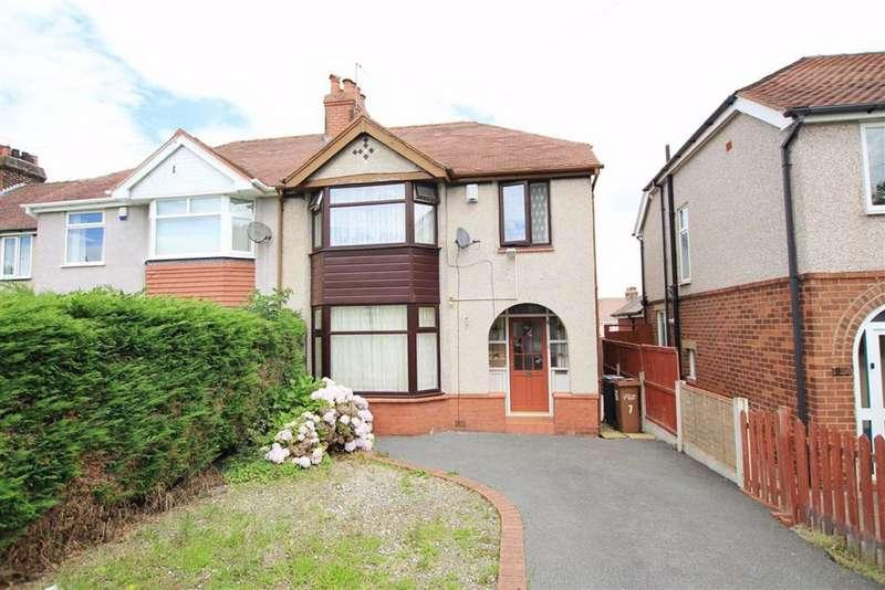 3 Bedrooms Semi Detached House for sale in Maes Hyfryd, Flint, Flintshire, CH6