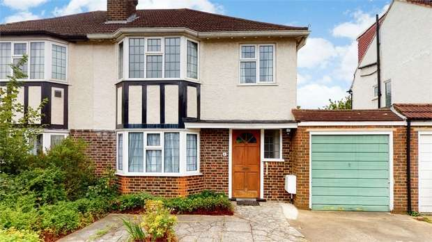 3 Bedrooms Semi Detached House for sale in Vincent Road, Isleworth, Middlesex
