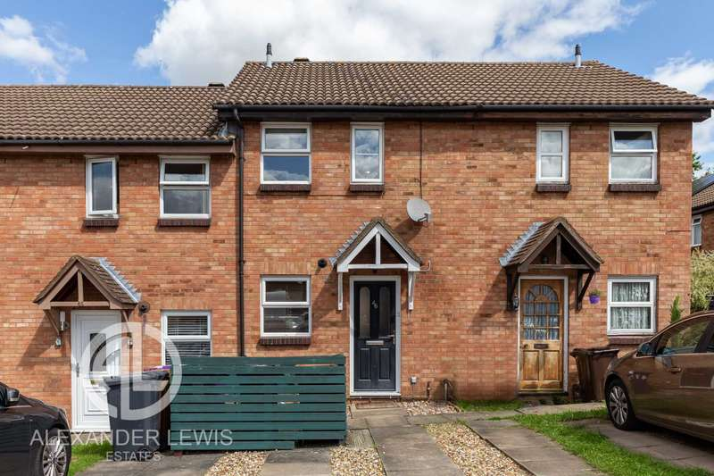 2 Bedrooms Terraced House for sale in Sanderling Close, Letchworth Garden City SG6 4HY