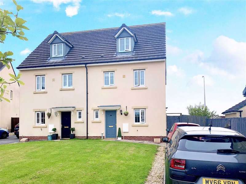 4 Bedrooms Semi Detached House for sale in Heol Waunhir, Carway, Kidwelly