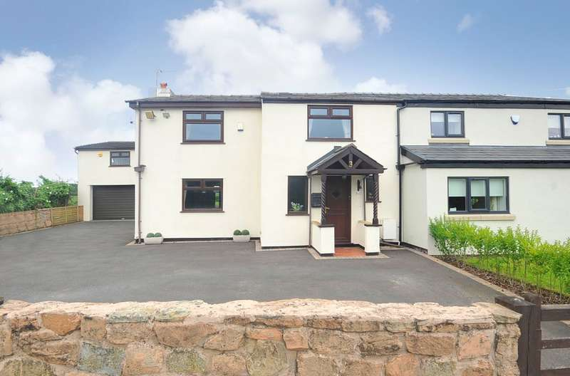 5 Bedrooms Semi Detached House for sale in Catchdale Moss Lane, St Helens, WA10