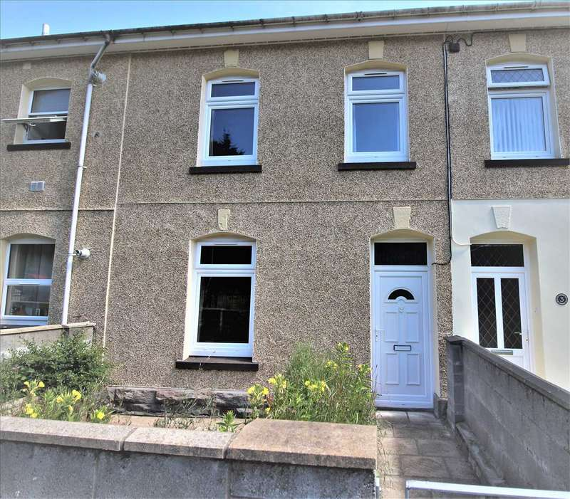 3 Bedrooms Terraced House for sale in Station Terrace, Treorchy