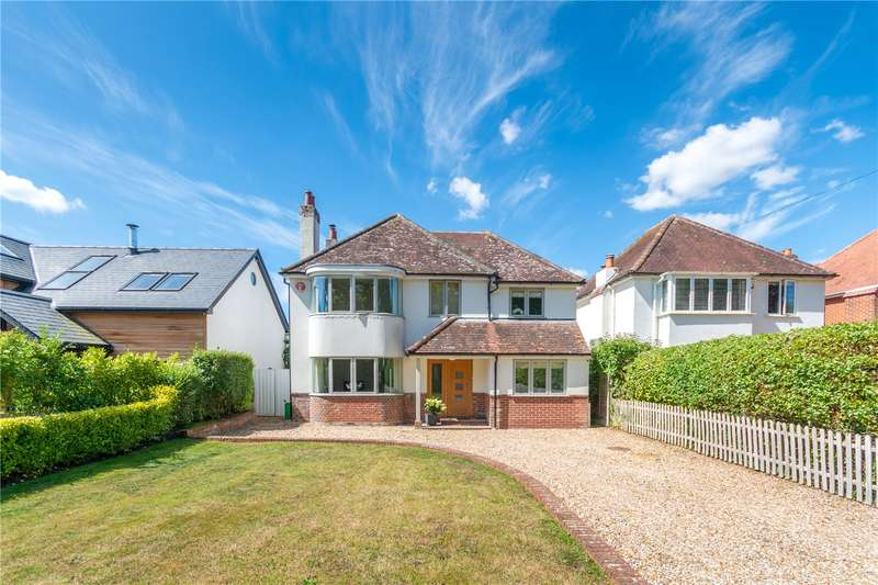 4 Bedrooms Detached House for sale in Fox Pond Lane, Lymington, Hampshire, SO41