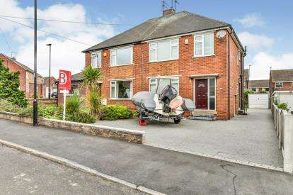 3 Bedrooms Semi Detached House for sale in Minster Close, Ecclesfield, Sheffield, South Yorkshire