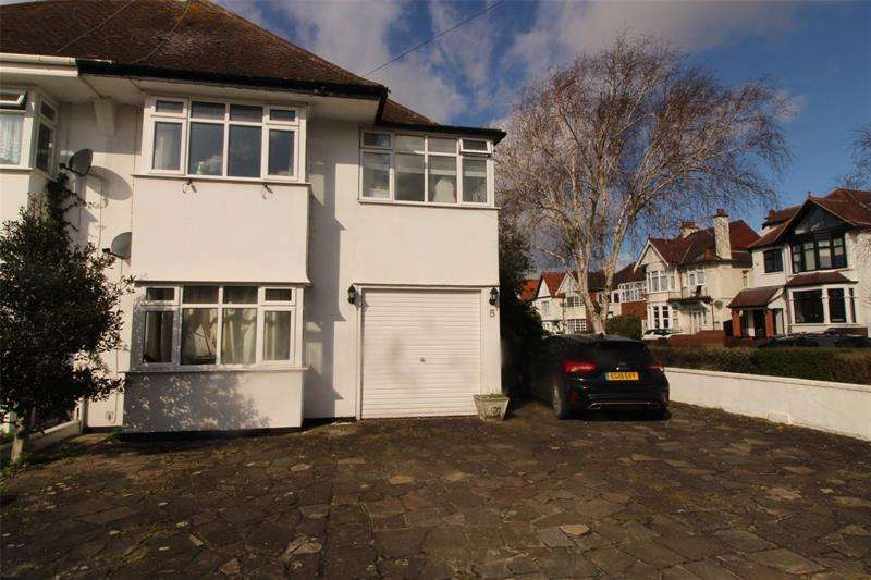 4 Bedrooms Semi Detached House for sale in Crowstone Avenue, Westcliff-on-Sea, Essex, SS0