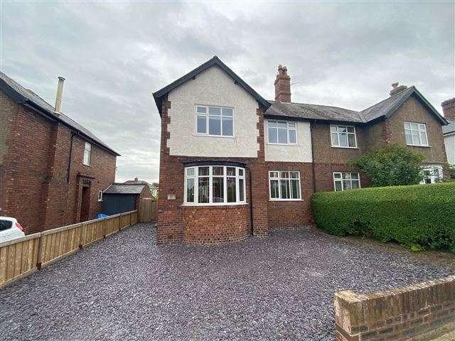 4 Bedrooms Semi Detached House for sale in Scotland Road, Carlisle, Cumbria, CA3 9DE