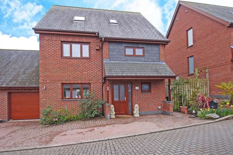 4 Bedrooms Detached House for sale in Rougemont Court, Exminster