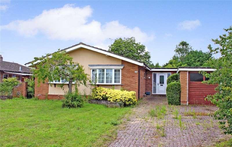 4 Bedrooms Detached Bungalow for sale in Greenbank, Halesworth, Suffolk, IP19
