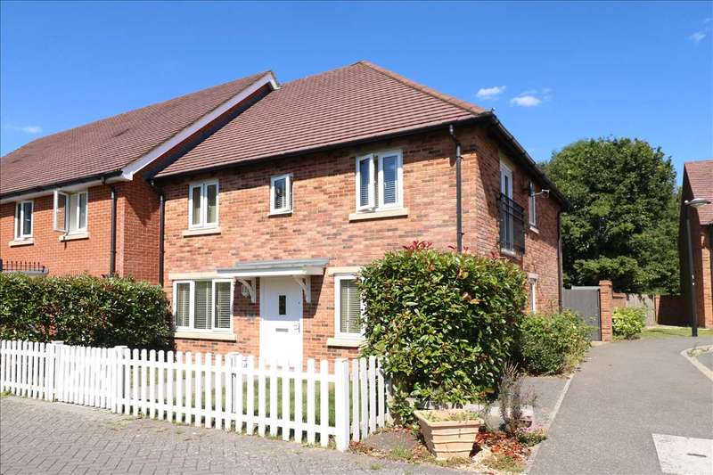 4 Bedrooms Semi Detached House for sale in Titchfield Common
