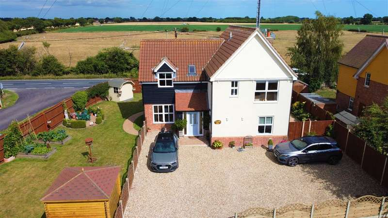 4 Bedrooms Detached House for sale in Dickley Hall Cottages, Clacton Road, Horsley Cross, Manningtree