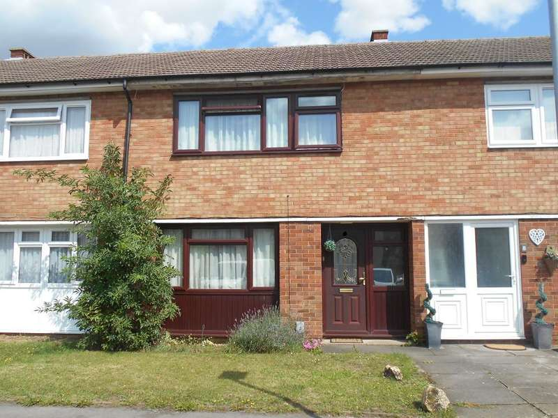 3 Bedrooms Terraced House for sale in Hooper Close, Kempston, Bedfordshire, MK42 7HS