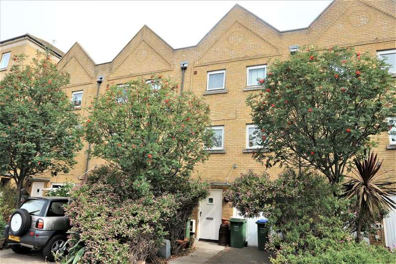 4 Bedrooms Town House for sale in Wharfside Close, Erith, Kent, DA8 1QR