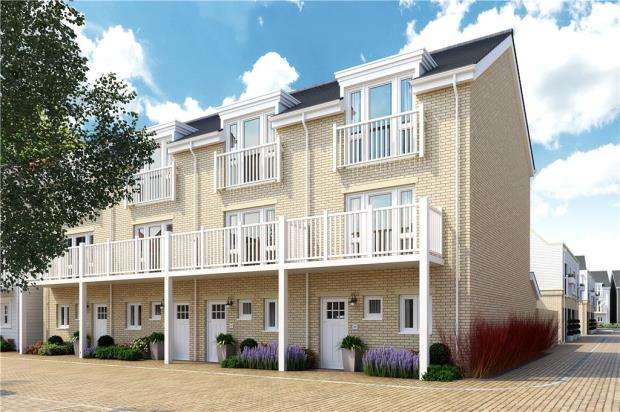 3 Bedrooms Terraced House for sale in Green Park Village, Reading, Berkshire