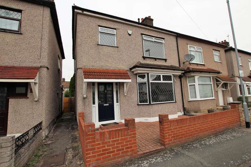3 Bedrooms Semi Detached House for sale in Cambeys Road, Dagenham, Essex, RM10 8YD