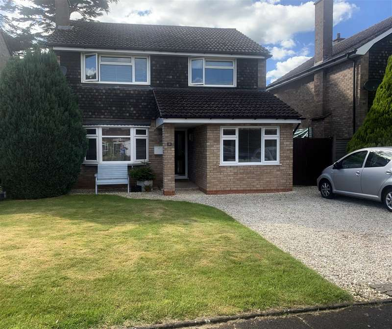 3 Bedrooms Detached House for sale in Glastonbury Close, Stafford