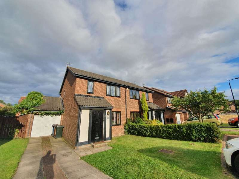 3 Bedrooms Semi Detached House for sale in Meltham Court, North Walbottle, Newcastle upon Tyne