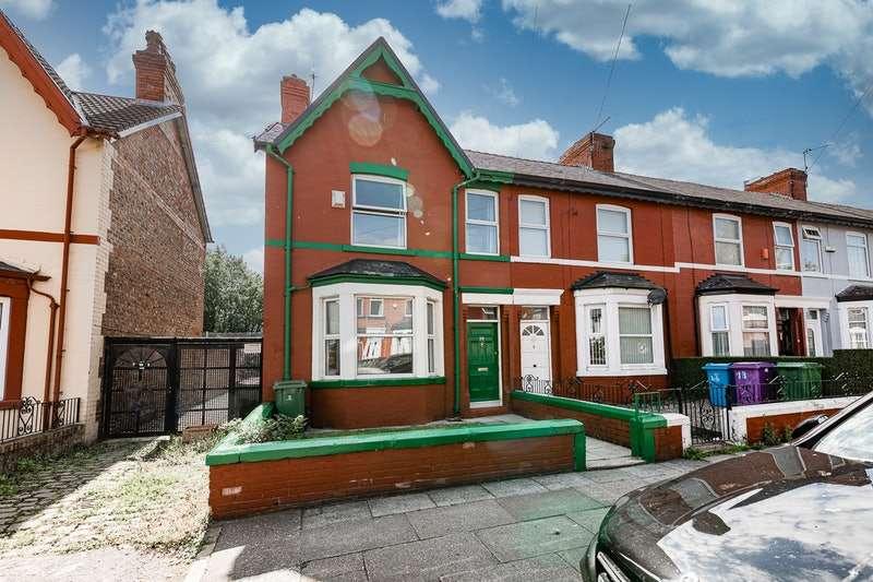 2 Bedrooms End Of Terrace House for sale in Cedar Road, Liverpool, Merseyside, L9