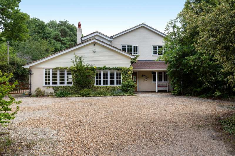 5 Bedrooms Detached House for sale in Hollybush Ride, Finchampstead, Wokingham, Berkshire, RG40